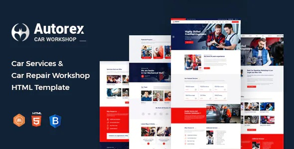 Best Car Service and Workshop HTML Template