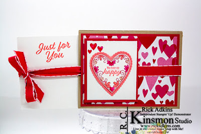 Meant to Be Bundle, All My Love DSP, Stampin' Up!, Rick Adkins