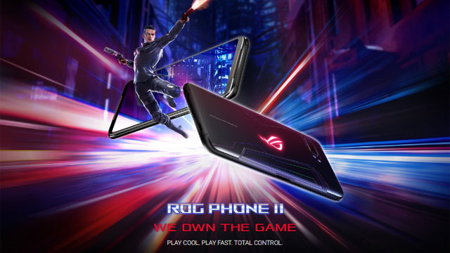 ROG Phone II We Own the Game