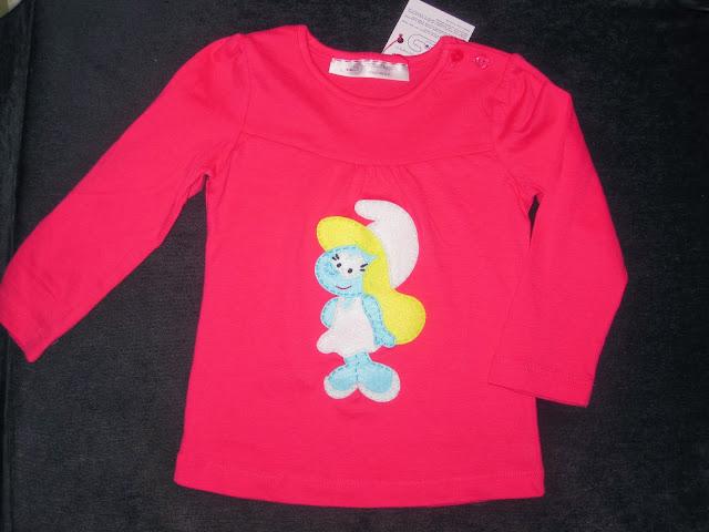 camiseta pitufina