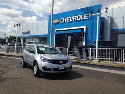 Certified Pre-Owned 2015 Chevrolet Traverse For Sale Denver