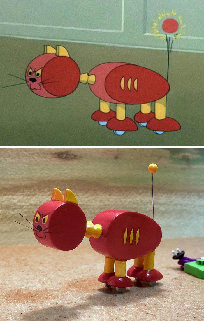 Japanese Artist Turns Tom and Jerry's Failures into Funny Sculptures