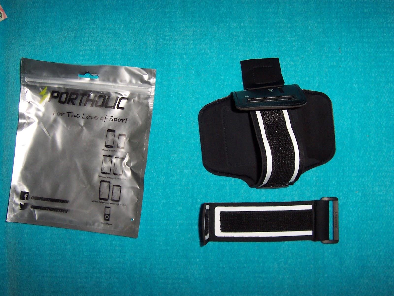 a2c22833c Sportholic® Brazalete Impermeable Para Deportes Más Correa De Extensión  -GARANTÍA DE POR VIDA- Con soporte para llaves, cables y tarjetas para  iPhone 6/6S ...