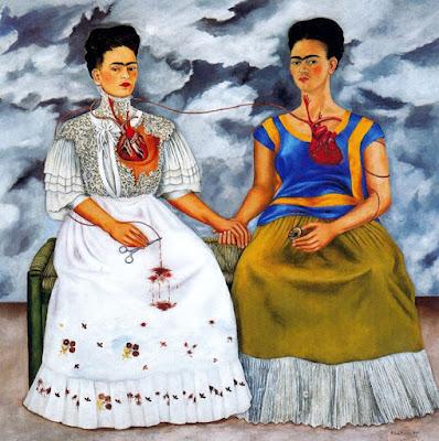 Les Deux Frida, Frida Kahlo