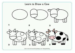 Cara Menggambar Hewan Dengan Mudah Untuk Anak