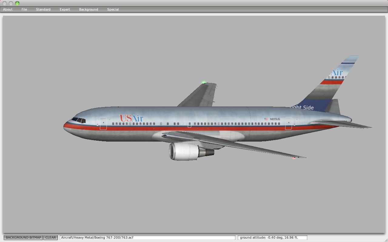 FSXP, a new Generation in X-plane Aircraft: 767-200
