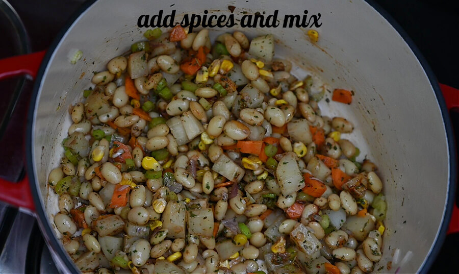how to make white bean soup from scratch