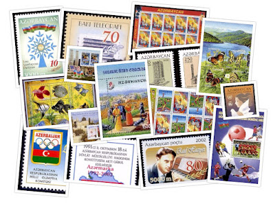 Azerbaijan Republic stamps from 2002