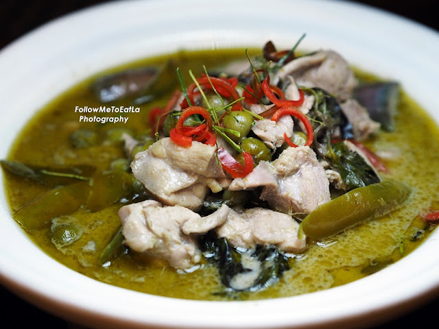 Gang Kiew Wan Gai ~ Thai green curry chicken