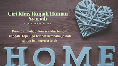 rumah hunian syariah