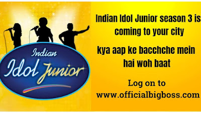 Indian Idol Junior season 3 audition