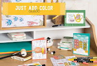 Look more closely at the Just Add Color Product Suite by Stampin' Up!