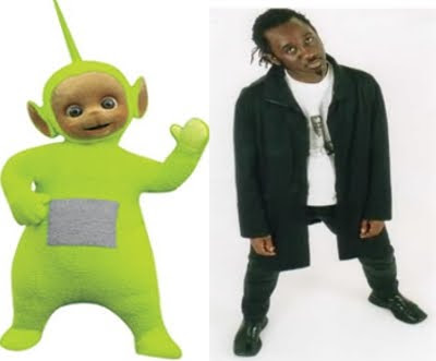 Dave Thompson Teletubbies Teimoso do teletubbies tem