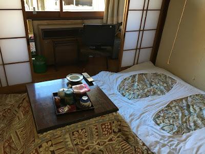 松屋旅館 1人用の4.5畳部屋
