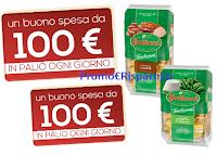 Logo Buitoni ''Il ripieno che ti premia'': vinci 84 buoni spesa da 100€