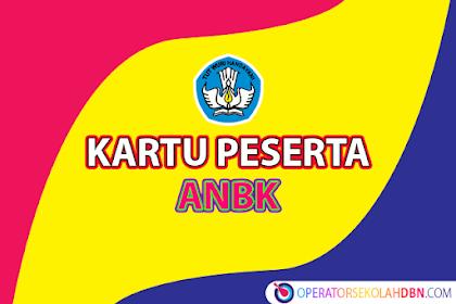 Kartu Peserta Cadangan Asesmen Nasional Berbasis Komputer (ANBK)