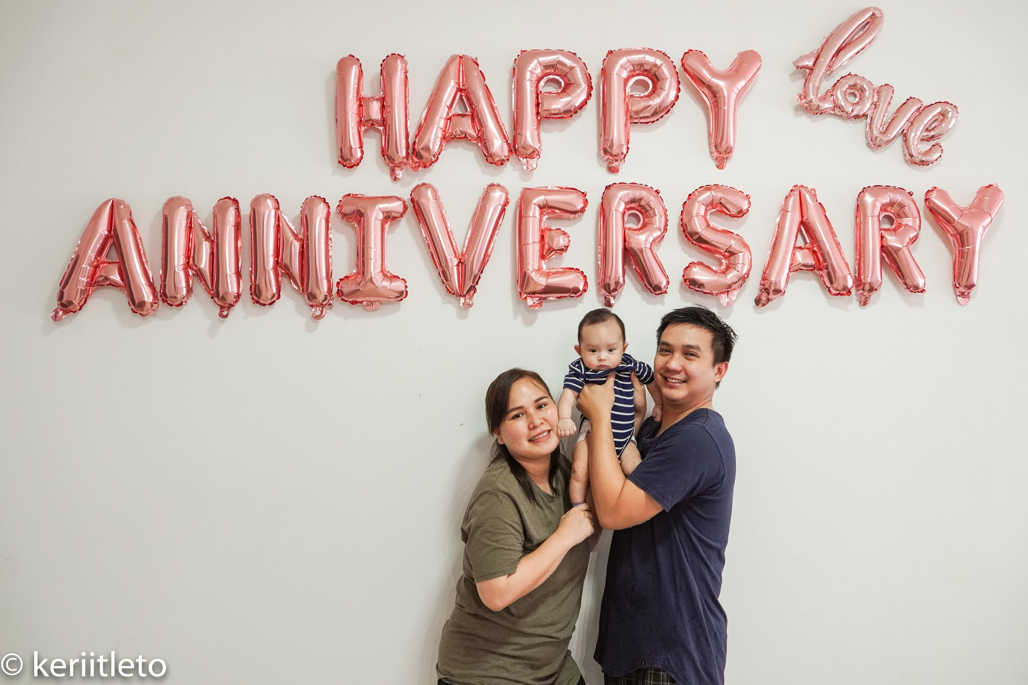 Our first anniversary photoshoot