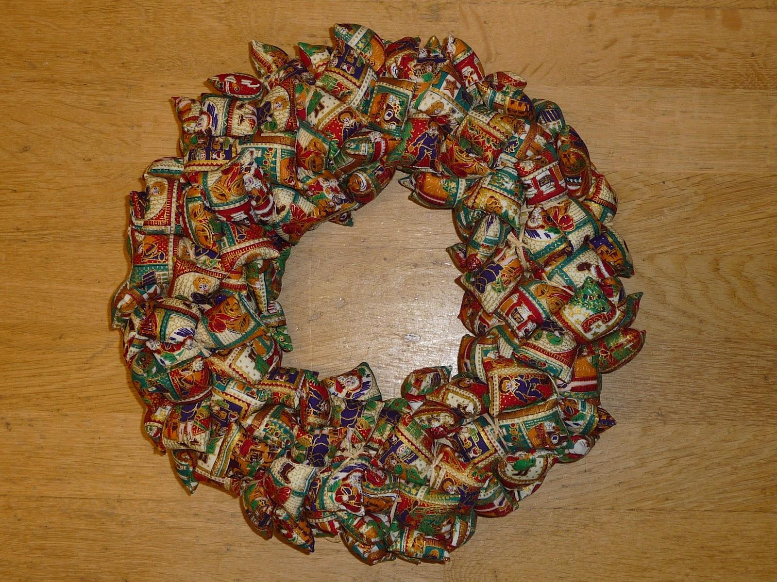Blog Over Hermies Hobbies Kerstkrans Of Kersthart Patroon