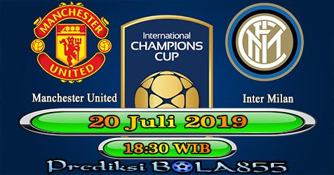 Prediksi Bola855 Manchester United vs Inter Milan 20 Juli 2019