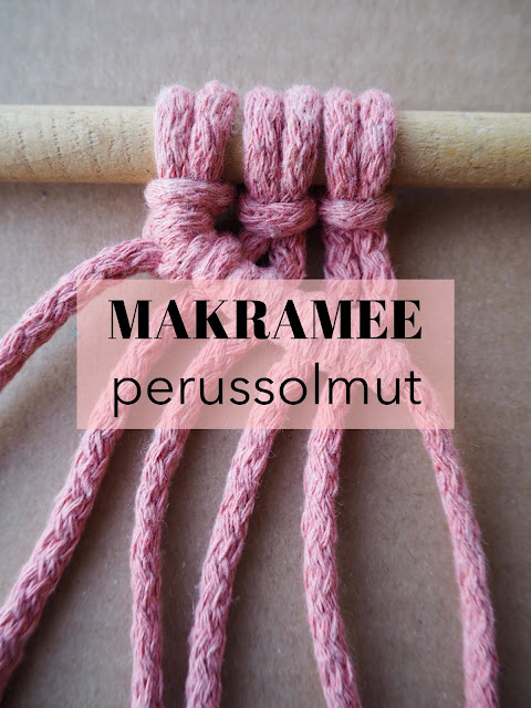 Makramee Solmut Ohje