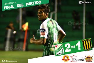 Oriente Petrolero vence 2 a 1 a The Strongest - DaleOoo