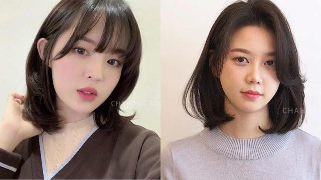 Nice Medium Korean Haircuts