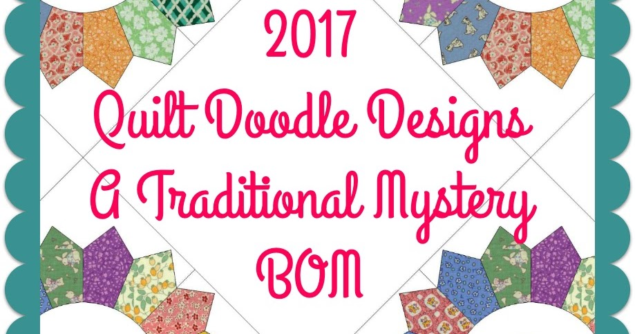 Quilt Doodle Doodles Embroidery