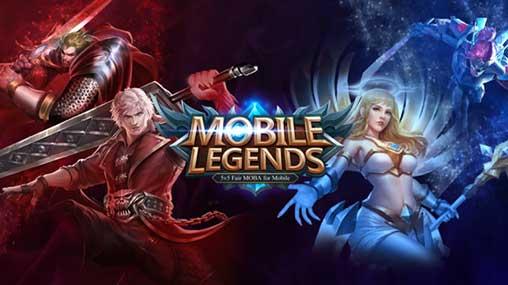 تحميل لعبة أساطير بانغ بانغ Mobile Legends Bang bang مهكرة آخر إصدار
