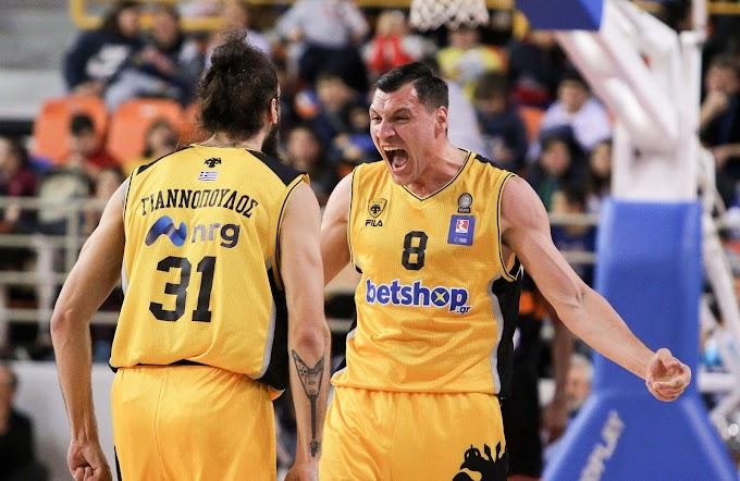 Κυπελλούχος Ελλάδας στο μπάσκετ η ΑΕΚ