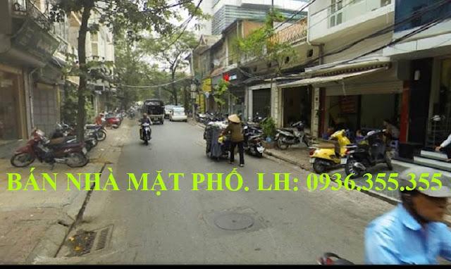 Bán nhà mặt phố Phạm Hồng Thái, Ba Đình