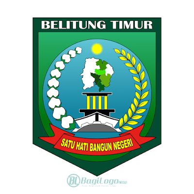Kabupaten Belitung Timur Logo Vector