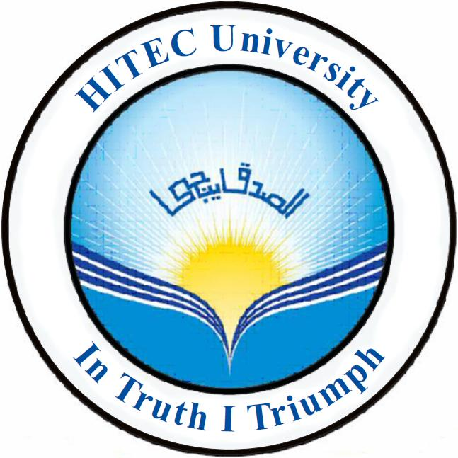 HITEC University, Taxila Cantt ~ Electrical and