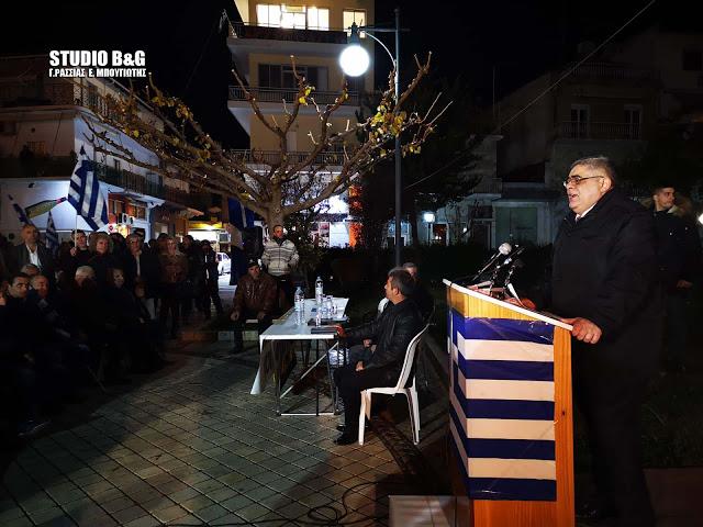 Ανακοίνωση της Ένωσης Αξιωματικών ΕΛ.ΑΣ. Αττικής για τις ύβρεις Μιχαλολιάκου κατά αστυνομικών στο Άργος