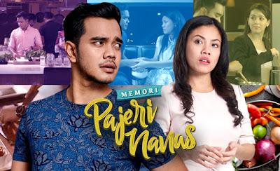Sinopsis, Filem, Malay Movie, Telefilem, Filem TV, Memori Pajeri Nanas, Astro First, Pelakon, Aliff Satar, Tiz Zaqyah, Siti Saleha, Masakan, Rumahtangga,