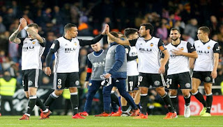 نتيجة مباراة خيتافي وفالنسيا اليوم الأحد 3-12-2017 في الدوري الأسباني أنتهت المباراة ب1 لصالح فريق خيتافي و0 لصالح فريق فالنسيا