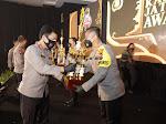 Polres Tuban Borong 8 Penghargaan Kapolda Jatim Awards 2021