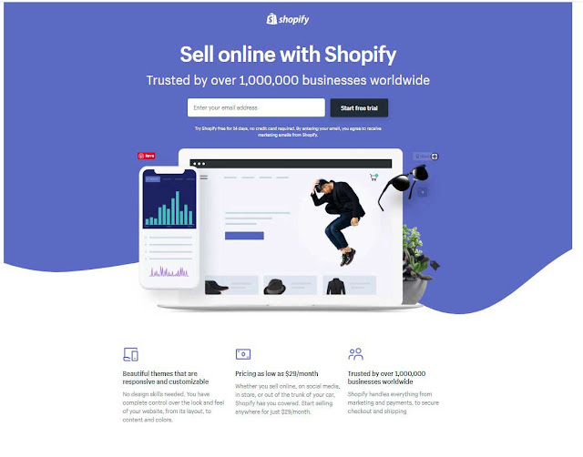 make money with Shopify Affiliate Program