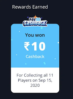 collect player rewards