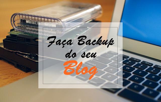 Faça Backup do seu blog