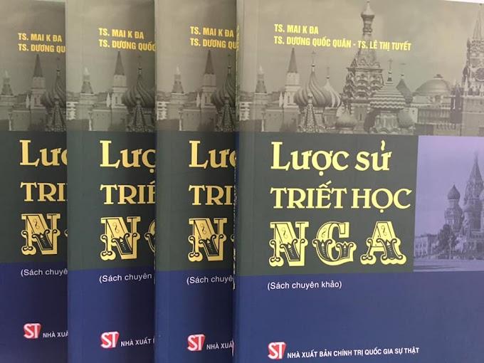 Mai K Đa, Dương Quốc Quân, Lê Thị Tuyết, Lược sử triết học Nga: Sách chuyên khảo
