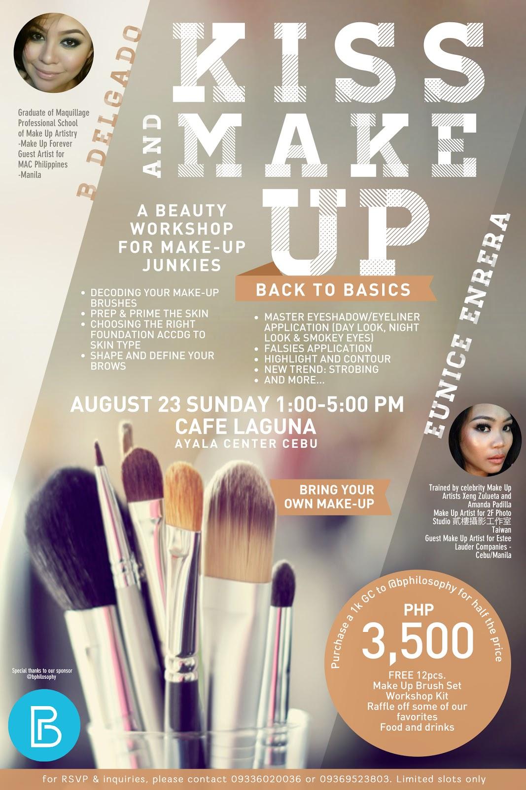 Cebu Fashion Bloggers, Cebu Bloggers, Fashion Bloggers, Lifestyle Bloggers, Makeup  Workshops, Cebu Workshops, Cebu Makeup Workshops, Cebu Makeup Artists, Cebu Beauty Bloggers, Beauty BLoggers, Kiss and Makeup Workshop Cebu
