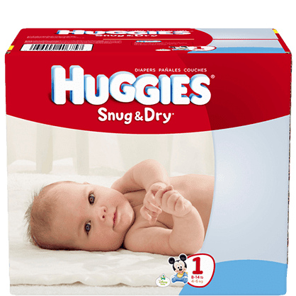 $3 Off Huggies from Snap by Groupon + Scenario