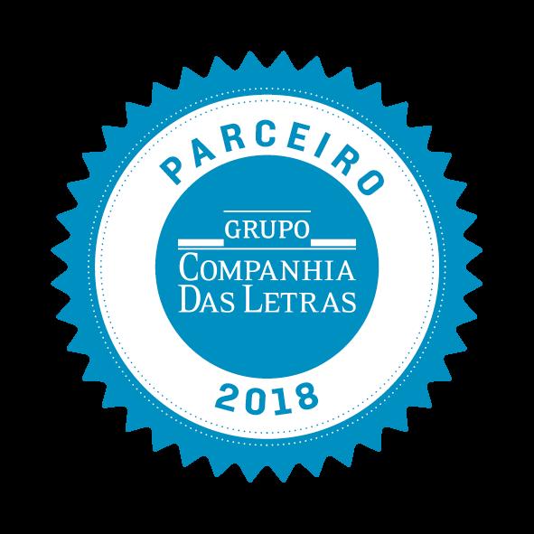 Selo Parceria Companhia das Letras 2018