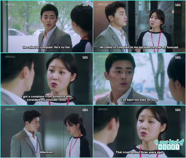 na ri told hwa shin the crush has ended 3 years back - Jealousy Incarnate - Episode 2 Review