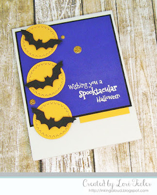 Wishing You a Spooktacular Halloween card-designed by Lori Tecler/Inking Aloud-stamps and dies from SugarPea Designs