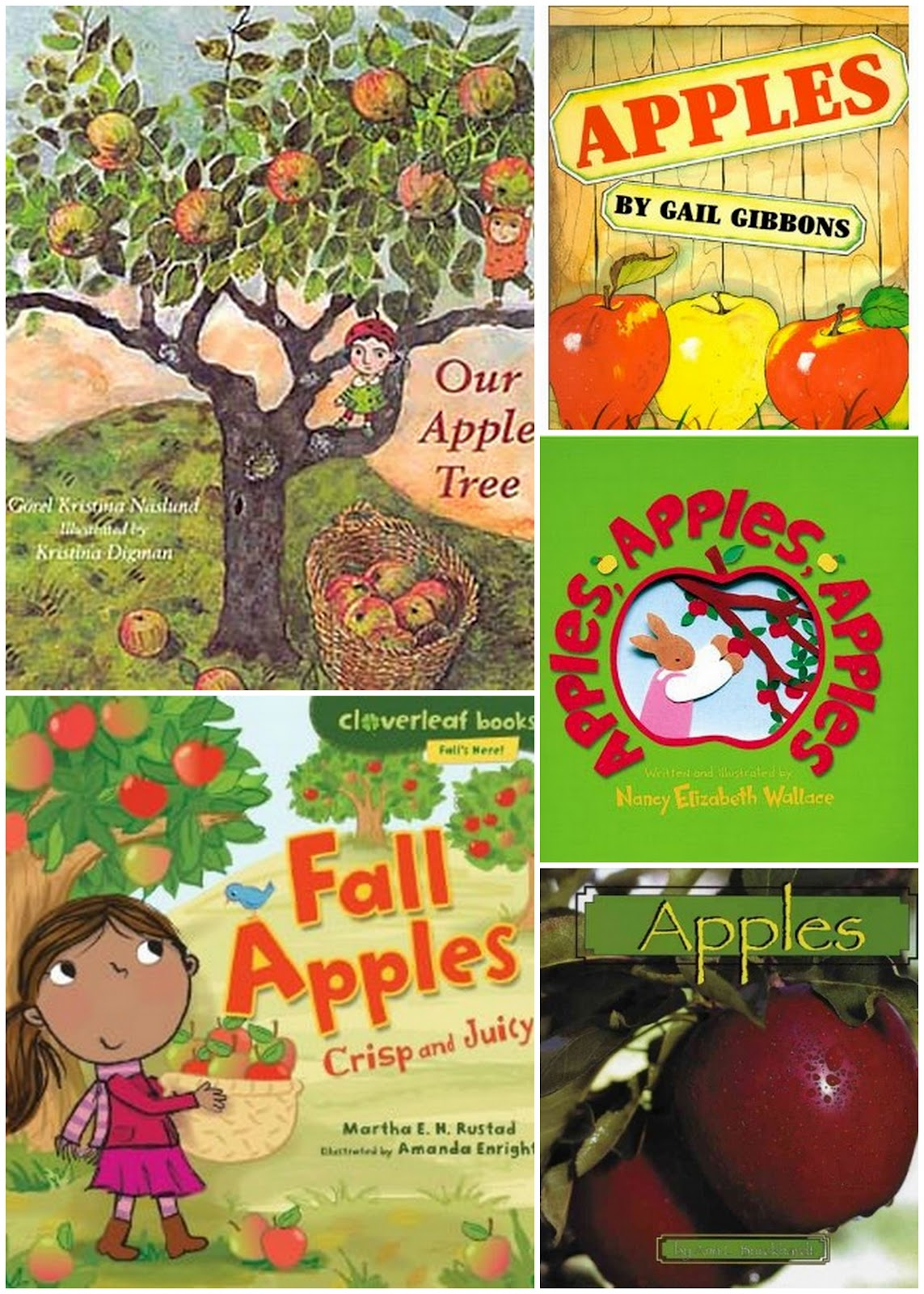 The Johnson Journey Unit Theme Apples