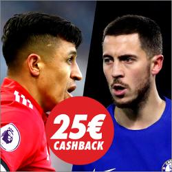 circus promocion 25 euros Manchester United vs Chelsea 25 febrero