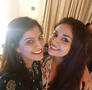 Keerthy Suresh with Varalaxmi Sharath Kumar Latest Selfie