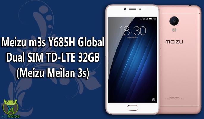 Meizu m3s Y685H Global Dual SIM TD-LTE 32GB Full Specs Datasheet