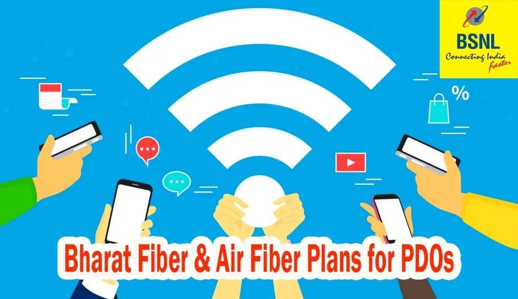 Special Broadband BSNL Airfibre plans